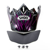SHOEI VFX-W CROSSHAIR PEAK TC-10 PURPLE