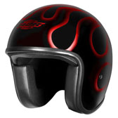 CUSTOM FG OPEN FACE HELMET
