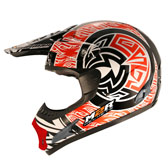 X1 HELMET - 2 EXTRA LARGE - AZTEC PC-1 RED