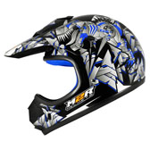 MX1 JR HELMET - YOUTH LARGE - MOTOSAUR PC-2 BLUE