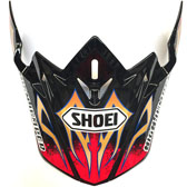 SHOEI VFX-W TAKA TC-1 RED PEAK