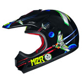 MX1 JR HELMET - YOUTH LARGE - SPACE MACHINE PC-1 RED