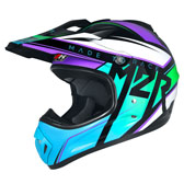 RACER PC-2 BLUE/PURPLE/LIME