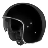 HIGHWAY HELMET - 2 EXTRA LARGE - BLACK